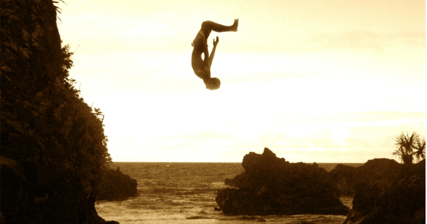 Cliff Jumping and Free Falling