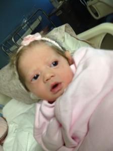 Newborn Baby Olivia